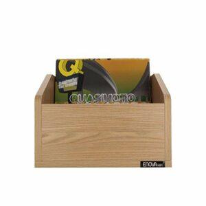 ENOVA hifi VINYLE BAC 120SWE – meuble bois pour 120 vinyles
