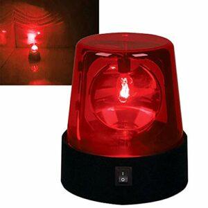 Guer Boule disco Party Lights de 3 pouces, alimentée par batterie, lumière stroboscopique rotative à effet de scène de DJ rotative de 360 degrés