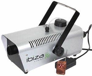 Ibiza LSM900W Machine à fumée sans fil DMX 900 W Gris