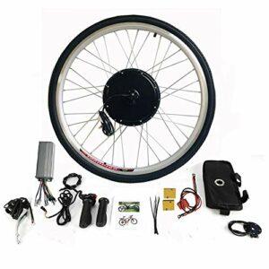 Kit de conversion pour vélo électrique 28″ – Kit de conversion pour roue avant – Moteur avant – Kit de conversion avec écran LCD (500 W 36 V)