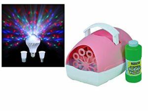 Kit d'éclairage sensoriel – Machine à bulles et ampoule de lune
