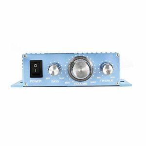 LITAO-XIE, 1PC 40W * 2 Amplificateur Audio TDA7056 2.0 Canal HiFi Stéréo Amplificateur de Puissance Fini DC12V pour Voiture de Voiture Automobile Haut-Parleur DIY