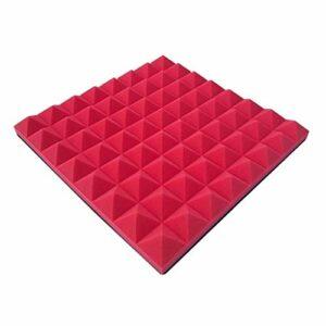 Matériau réducteur de bruit 10PCS panneaux insonorisant, protection de l'environnement Panneaux acoustiques durables danse salle de musique acoustique de la pièce en mousse Peut être utilisé dans les