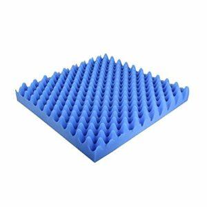 Matériau réducteur de bruit Insonorisant coton, 5 cm d'épaisseur Panneaux acoustiques en classe 20PCS protection de l'environnement acoustique en mousse Wedge Tiles Peut être utilisé dans les tuyaux d