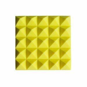 Matériau réducteur de bruit Insonorisation acoustique haut de gamme en mousse, bar KTV Panneaux acoustiques haute densité ignifugé Carrelage mousse acoustique Taille: 50 * 50 * 8cm Peut être utilisé d
