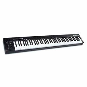M-Audio Keystation 88 MK3 – Clavier maitre USB MIDI 88 touches semi-lestées pour contrôler les synthétiseurs virtuels et les stations audionumériques
