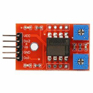 Module de capteur d'inclinaison à un axe, Module de capteur de détection d'angle d'inclinaison SCA60 C, électronique d'accessoire PCB DC 5V, pour voiture intelligente