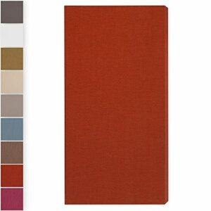Panneau acoustique»Brushed Pro M»: 116 * 58 * 6.5cm, Orange Foncé