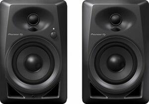 Pioneer DJ DM-40Lot de 2 Haut-parleurs pour PC, Home studio, etc. (actifs, 2voies 4«/0,75»,21W)