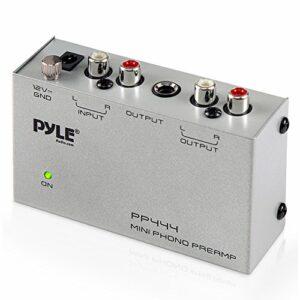 Pyle PP444 1.0canaux avec Fil Gris amplificateur Audio – Amplificateurs Audio (1.0 canaux, 0,08%, 70 DB, 3 mV, 50000 Ohm, 20 – 20000 Hz)