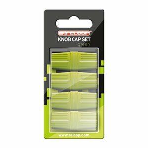 Reloop Knob Cap Set green – 8 Boutons, revêtement en caoutchouc pour une meilleure prise en main, Compatible avec de Nombreux mixeurs et Contrôleurs pour DJ, Vert KNOB-CAP-GREEN