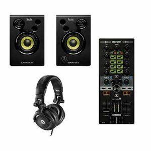 Reloop Mixtour – Contrôleur DJ mixtour – 2 canaux – Pour iPad/Tablette Spotify DJAY2
