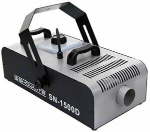 Showlite SN-1500D DMX machine à fumée 1500W télécommande avec timer réglable incl.
