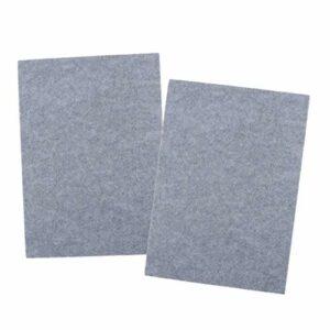 SM SunniMix 2x Panneau D'isolation de Tuile de Panneau D'absorption Acoustique de Fibre de Polyester Antidérapant