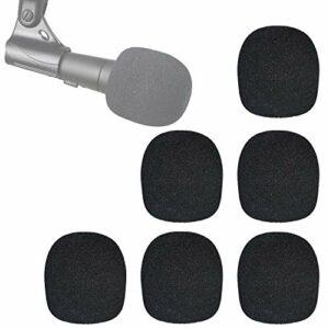 SM58 Bonnette Micro en Mousse – Microphone Pare-brise Mousse Professionel pour réduire bruit pour Shure SM58 SM58-LC par YOUSHARES (6 Pièces)