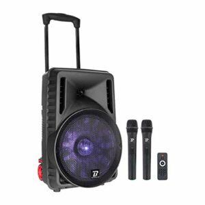 Sono portable BoomToneDJ Traveler 12 pouces VHF