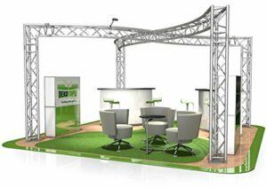 Stand de Foire FD 33-6 x 6 x 2,5 m (LxHxH) – 36 m²