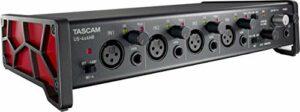 Tascam US-4x4HR Interface audio USB haute résolution 4 micros 4 in/4 out