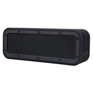 TWS Barre de son haut-parleur Bluetooth sans fil portable 50 W 6600 mAh Subwoofer stéréo de basses profondes IPX7 Enceintes extérieures imperméables pour jeux, PC et TV