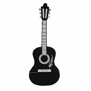 Usb Flash Drive Mini Design Guitar 64go Usb Flash Drive Haute Vitesse Memory Stick Pouce Lecteur Pour Les Étudiants Black Kids Creative Cadeau Idéal