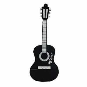 Usb Flash Drive Mini Design Guitar Flash Drive Usb 32 Go Haute Vitesse Memory Stick Pouce Lecteur Pour Les Étudiants Black Kids Creative Cadeau Idéal