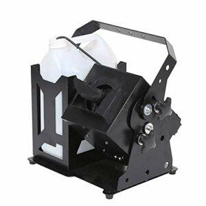 WZM Pompe Machine à Neige Artificielle Effet Tempête de Neige Télécommande sans Fil Contrôleur DMX Effet Neige Naturelle Idéale pour Les Soirées et Animations Hivernales Neige