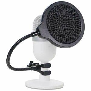 YOUSHARES Filtre Anti Pop Professionnel du Micro – Bouclier de Microphone avec 3 Couches Améliorant la Qualité Sonore pour Microphone à Condensateur Razer Seiren Mini