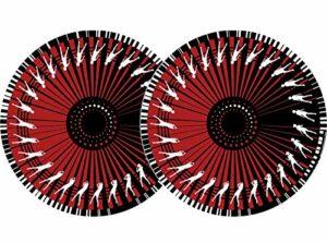 Zomo ZM62301 Paire de feutrines Rouge