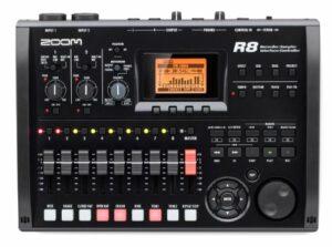Zoom–R8Équipement magnétoscope Interface sampler enregistreur 2pistes