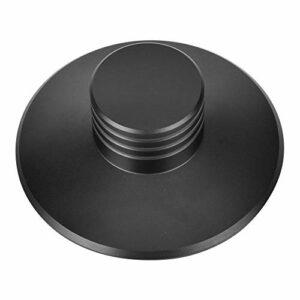 Zwindy Stabilisateur de Plateau tournant Durable et élégant, stabilisateur de Poids d'enregistrement Audio Domestique, Pince de Disque de Lecteur de Disque pour Lecteur de CD
