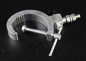 (1 pièces) Truss Clampe de Aluminium de Suspension avec corde de sécurité de crochet de suspension pour LED Lumière de Scène le faisceau principal mobile, accessoires menés d'éclairage 30-60MM 70KG