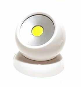 360° COB LED 180lm Lampe de travail Lampe Lumière Boule lumière rotatif et amovible magnétique Maison Voiture Outdoor Camping pêche Maison Jardin Blanc Neuf