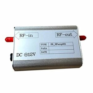 8KHz-3GHz Bande de fréquence MC EMI Low Noise RF Radio Fréquence Amplificateur 30dB Entrée Signal RFamp001 Outils professionnels pratiques