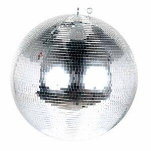 American DJ mirrorball 40 cm Boule à facettes Argenté