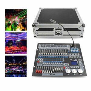 Aohuada 1024 CH DMX 512 Moviing Head Console Stage Light DJ-DMX Console d'éclairage + étui de transport