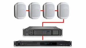 Apart système Audio Retail White 240W