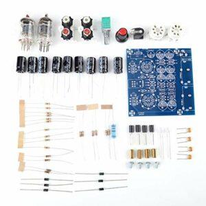 awstroe Kit d'amplificateur de Carte de Préampli de Valve de Tube d'électrons sous Vide Pièces d'ampli de Casque Kit de Fidélité Musicale