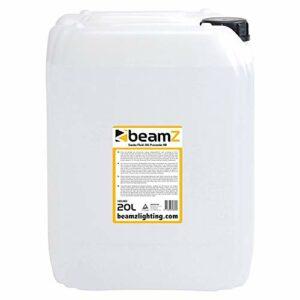 BeamZ liquide pour machine à fumée 20L – haute densité, haute performance, ne laisse pas de résidus, biodégradable, non toxique pour la santé et l'environnement.