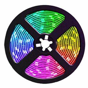 Bestlymood 20M RGB leD Bandes Lumineuses Couleur Changeante Musique Sync Couleur pour DéCoration Maison FêTe Bandes Lumineuses avec TéLéCommande