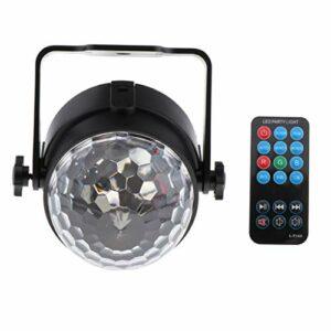 chiwanji Disco Stage DJ Lights Crystal Ball Lamps Light avec Télécommande