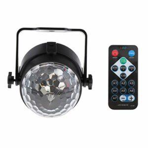 chiwanji Mini Disco Party Lights LED RGB KTV Club Lampe 7 Modes Projecteur UK