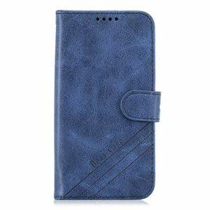Coque pour iPhone 11 Pro Coque,Housse en Cuir Flip Case Portefeuille Etui avec Stand Support et Carte Slot pour Apple iPhone 11 Pro 2019 – EYHX010682 Bleu