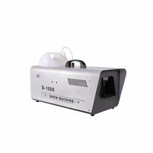 CXN Parfum l'hiver 1500W Machine à Neige Artificielle Effet Contrôle Filaire Flocons de Neige Très Réaliste Idéale pour de Noël Halloween Animations 54 * 34 * 35cm Minuteur