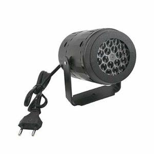 CYYDBB Lumières De Scène À LED, Projecteur De Tempête De Neige Blanc Lumière Flocon De Neige LED Atmosphère De Noël Lampe Spéciale Fête De Famille