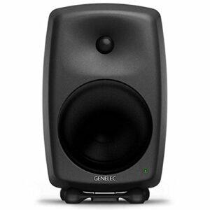 Genelec 8050BPM 270 W Black Loudspeaker – Loudspeaker (2-Way Wired, XLR, 270 W, 32-25000 Hz, Noir)