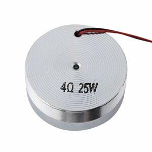 Haut-parleur électrodynamique de résonance d'effet de basse de 8 pouces Haut-parleur de vibration de basse pour ordinateur portable(4Ω 25W)