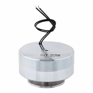 Haut-parleur électrodynamique de résonance d'effet de basse de 8 pouces Haut-parleur de vibration de basse pour ordinateur portable(8Ω 20W)
