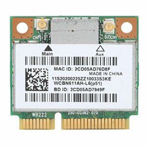 iFCOW Mini carte WiFi Bluetooth 4.0 double bande sans fil pour système XP/WIN7/WIN8/WIN10 Lenovo spécifique Version Accessoire informatique