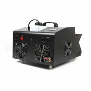 Kaibrite Fogger Bubbles Machine à fumée avec 9 LED Fast Remote Control pour Noël, Halloween, DJ, soirée disco 3000 W