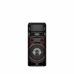 LG Electronics ON7 Enceinte de fête avec Fonction DJ et karaoké, réception Radio (Dab+ et FM, Lecteur CD, Bluetooth)